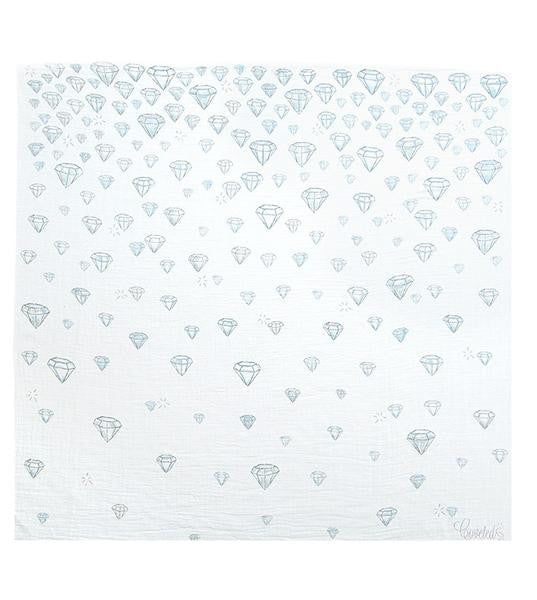 Diamonds Coveted Swaddle Blanket