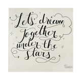 """Dream Together"" Coveted Swaddle Blanket"