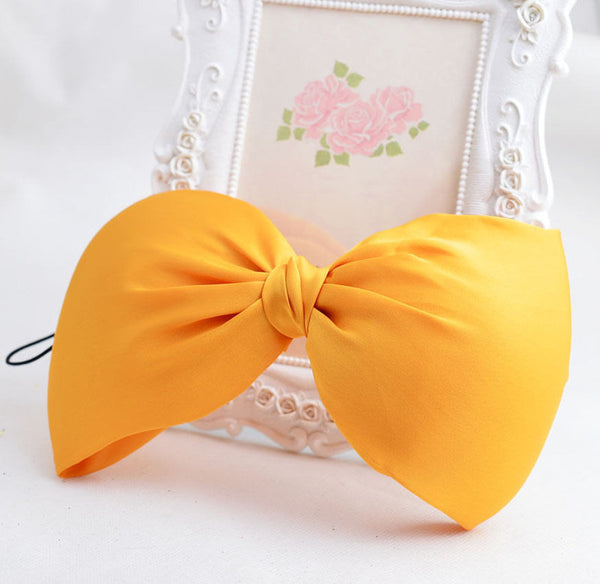 Oversized Drape Bow