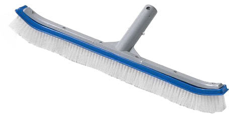 "18"" Aluminum Floor & Wall Pool Brush"