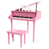Pink 30 Key Toy Piano with Bench - 2