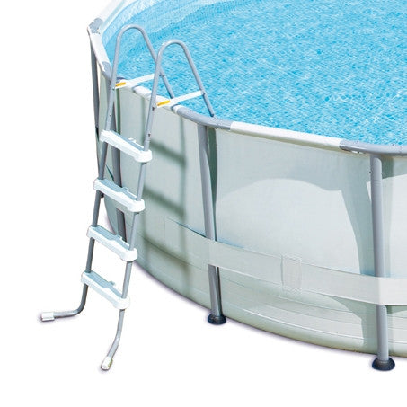 "48"" Pro Series Ladder with Barrier for Frame Pool 097-020015"
