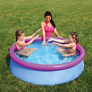 "5' x 15"" Quick Set Ring Pool with Pink Ring R-P21-0515-B"