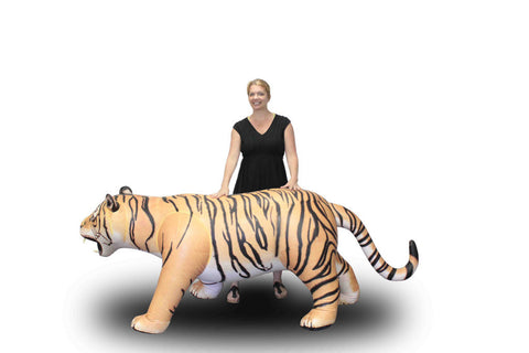 8' Long Tiger Inflatable - 1