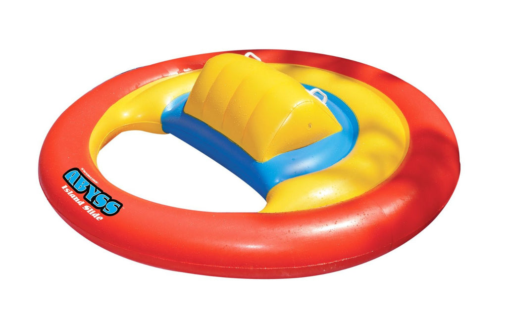 Abyss Island Pool Slide Inflatable Toy