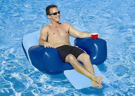 Aqua Chair Inflatable Pool Lounge