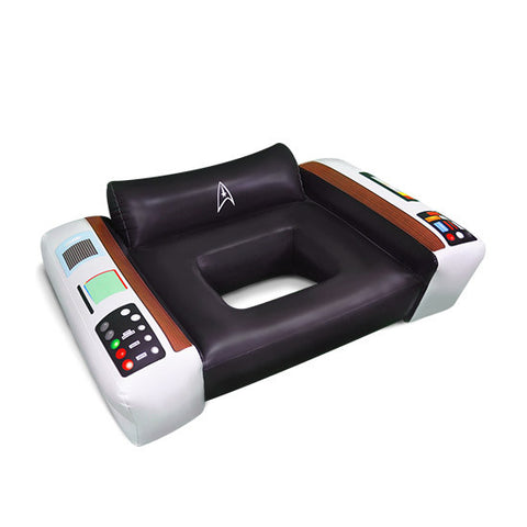 Officially Licensed Star Trek Captains Chair Inflatable Pool Float