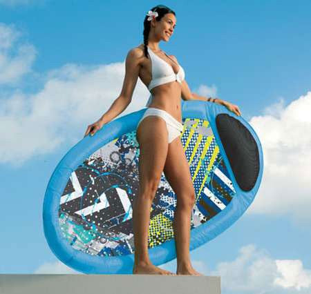 Spring Float Pool Loungers - 1