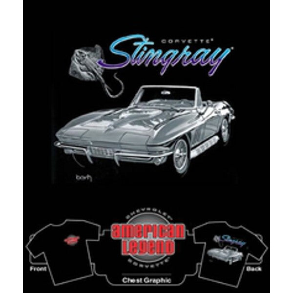 Big Block Corvette Stingray T-Shirt