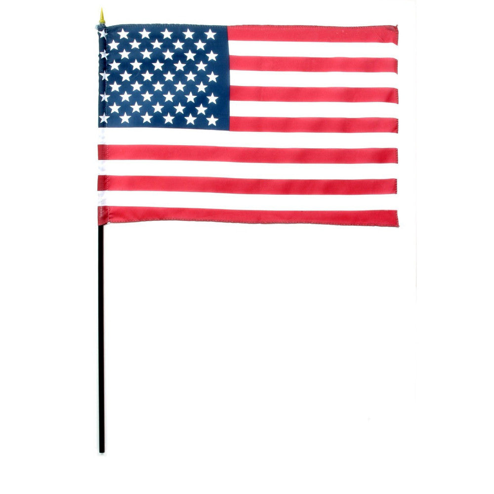 "12"" x 18"" American Flags"