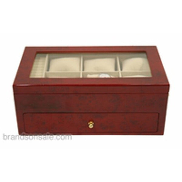 Wooden Watch Storage Box Case