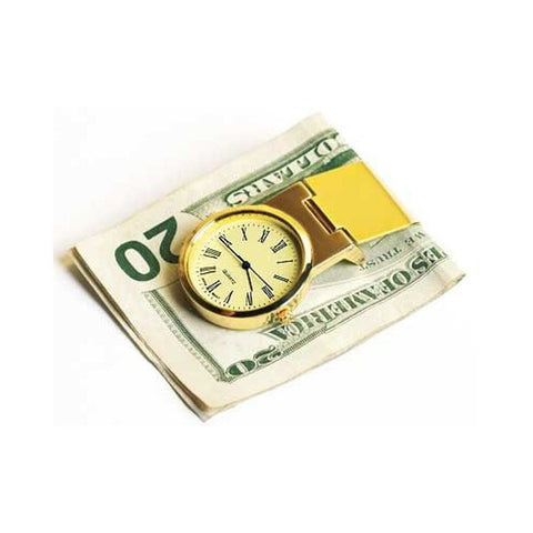 Steinhausen Gold Credit Card Clip Watch