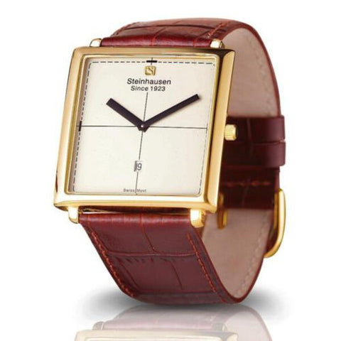 Men's Steinhausen Artiste Gold Swiss Watch