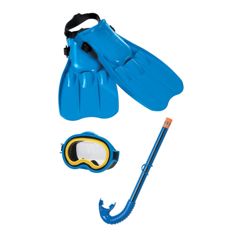 Childs Sea Scan Swim Mask, Snorkel and Fins Set