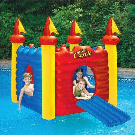Cool Castle Inflatable Play House Pool Inflatable
