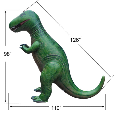 8' Tall T-Rex Inflatable - 1