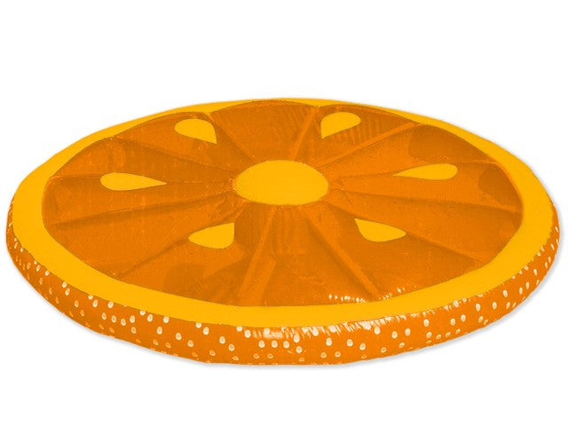 Inflatable Orange Fruit Slices Pool Lounger