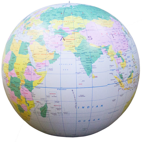 Earth: Political Map Inflatable - 1