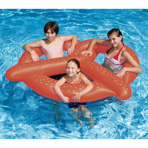 Giant Pretzel Floating Lounger