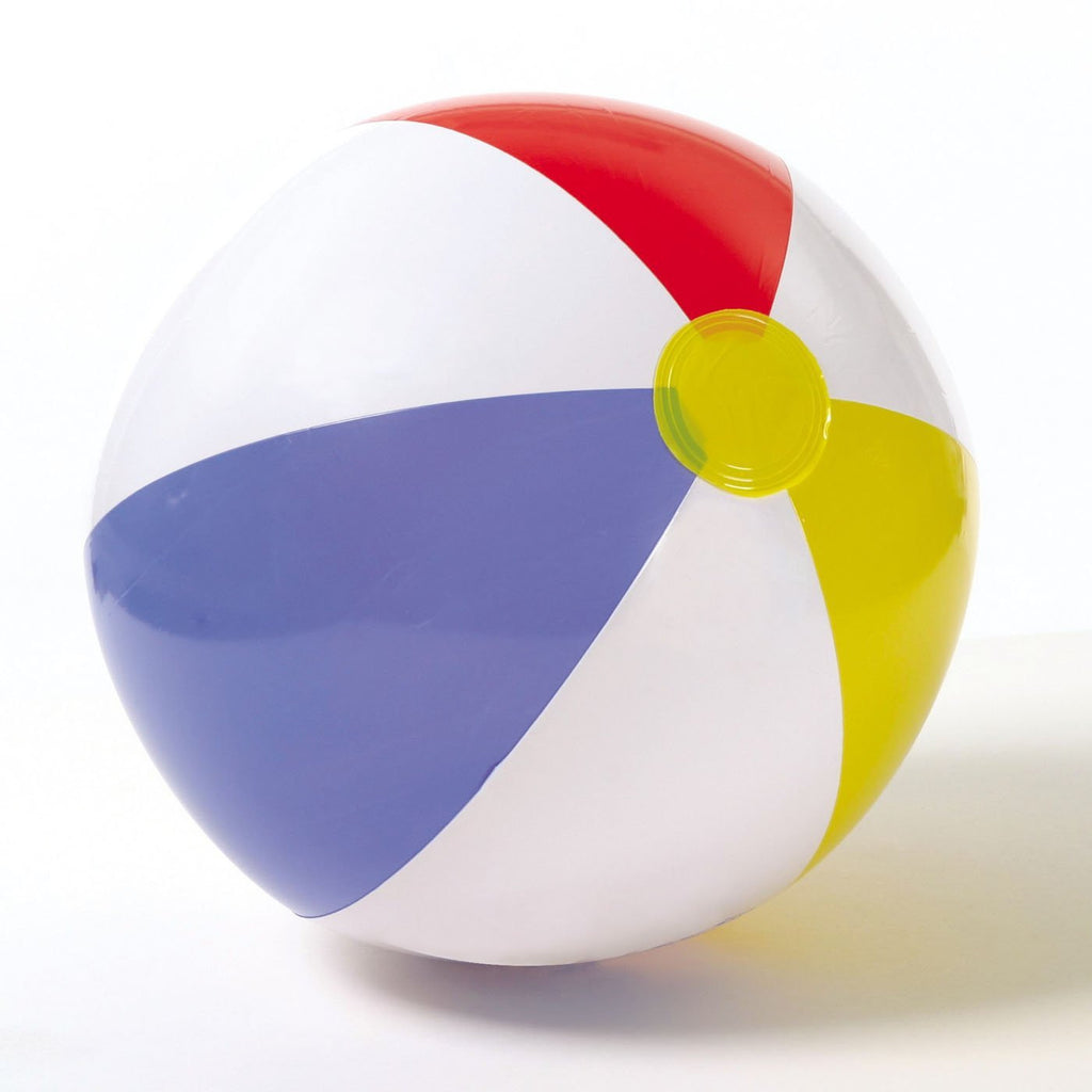 "Glossy Panel 20"" Beach Ball"