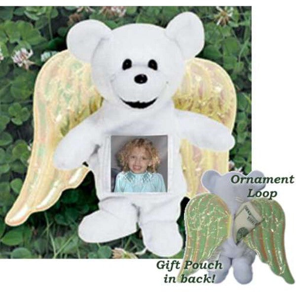 Angel Picture Stash Bear