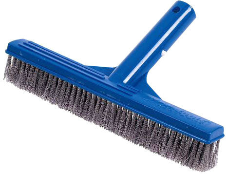 "Deluxe 10"" Stainless Steel Concrete Pool Brush"