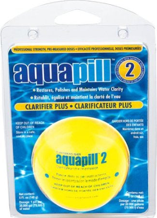 Swimming Pool 20K Gallon AquaPill Clarifier Pill