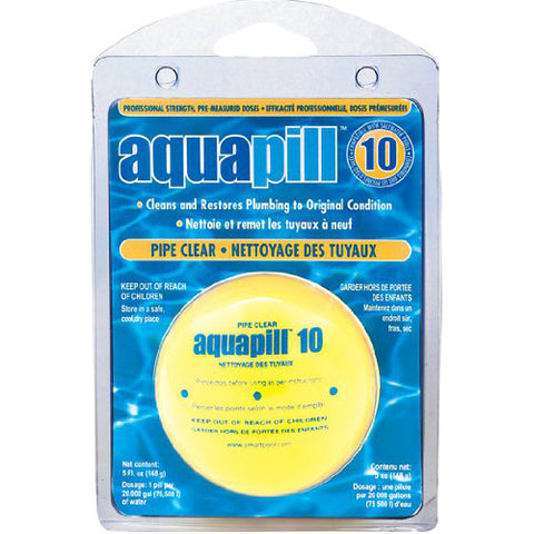 Aquapill Swimming Pool Pipe Clear Pill