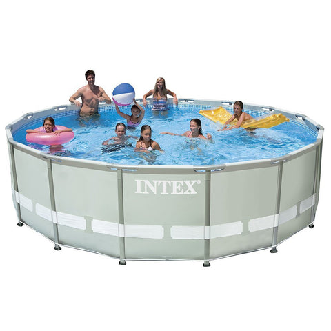 Intex 16ft x 48in Ultra Frame Pool Set w/ Sand Filter Pump - 1