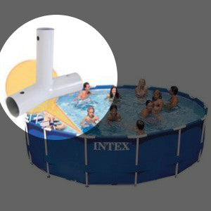 Replacement Tee Joint for Intex 14, 15, 16 and 18 Ft Diameter Metal Frame Pools