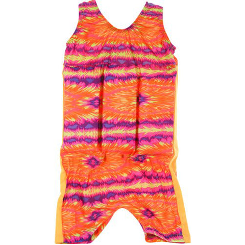Skill School Tank Style Swim Trainer Suit Small Pink