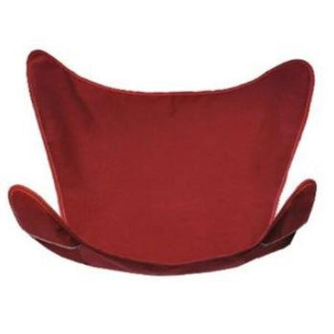 Burgundy Butterfly Chair Cover
