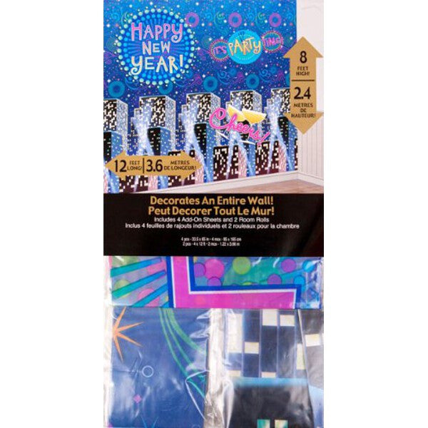 Giant New Years Eve Party Decorating Kit