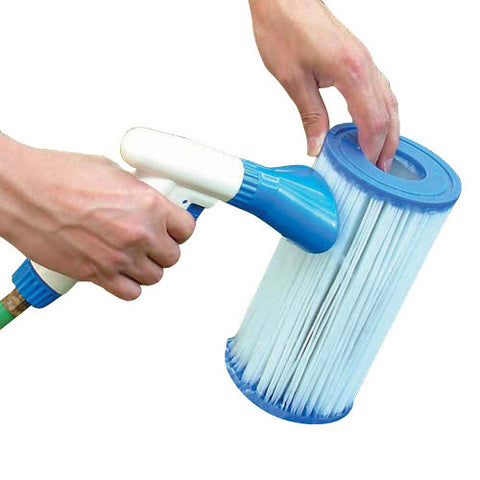 Filter Cartridge Cleaning Tool for Pool Filter Cartridges