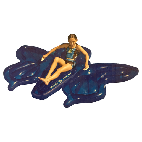 Giant Butterfly Floating Lounge Island for Swimming Pools