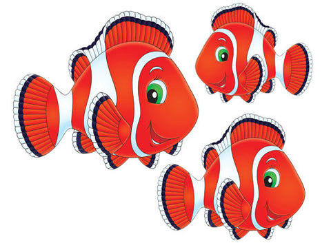 Pool Deco Magnetic Fish Decals - 1