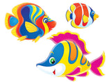 Pool Deco Magnetic Fish Decals - 3