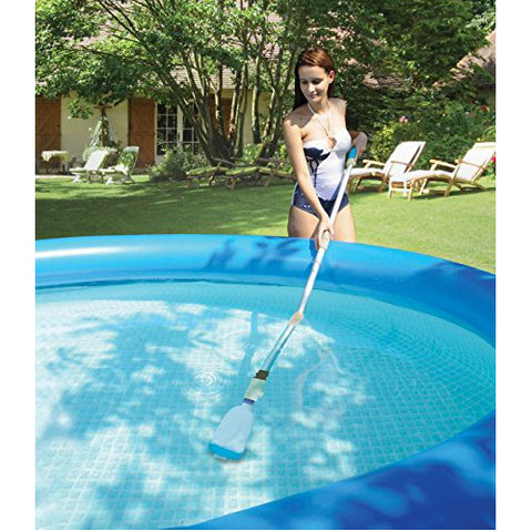 Kokido Lektra Vac Battery Powered Swimming Pool Cordless Vacuum Broom Cleaner