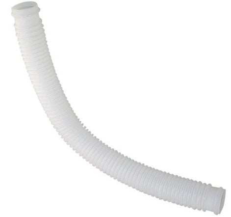 1-1/4 Inch x 3 Foot Long White Filter Connection Hose