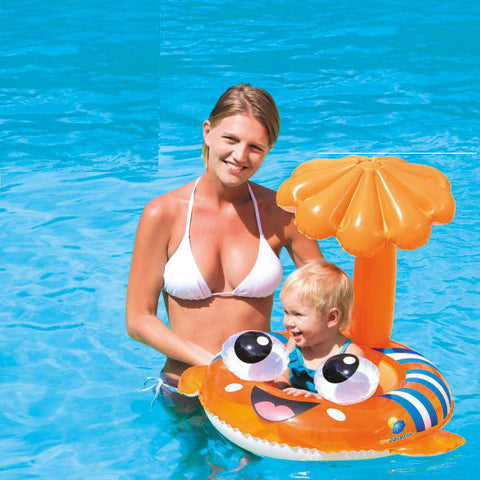 Clown Fish Baby Pool Inflatable Tube
