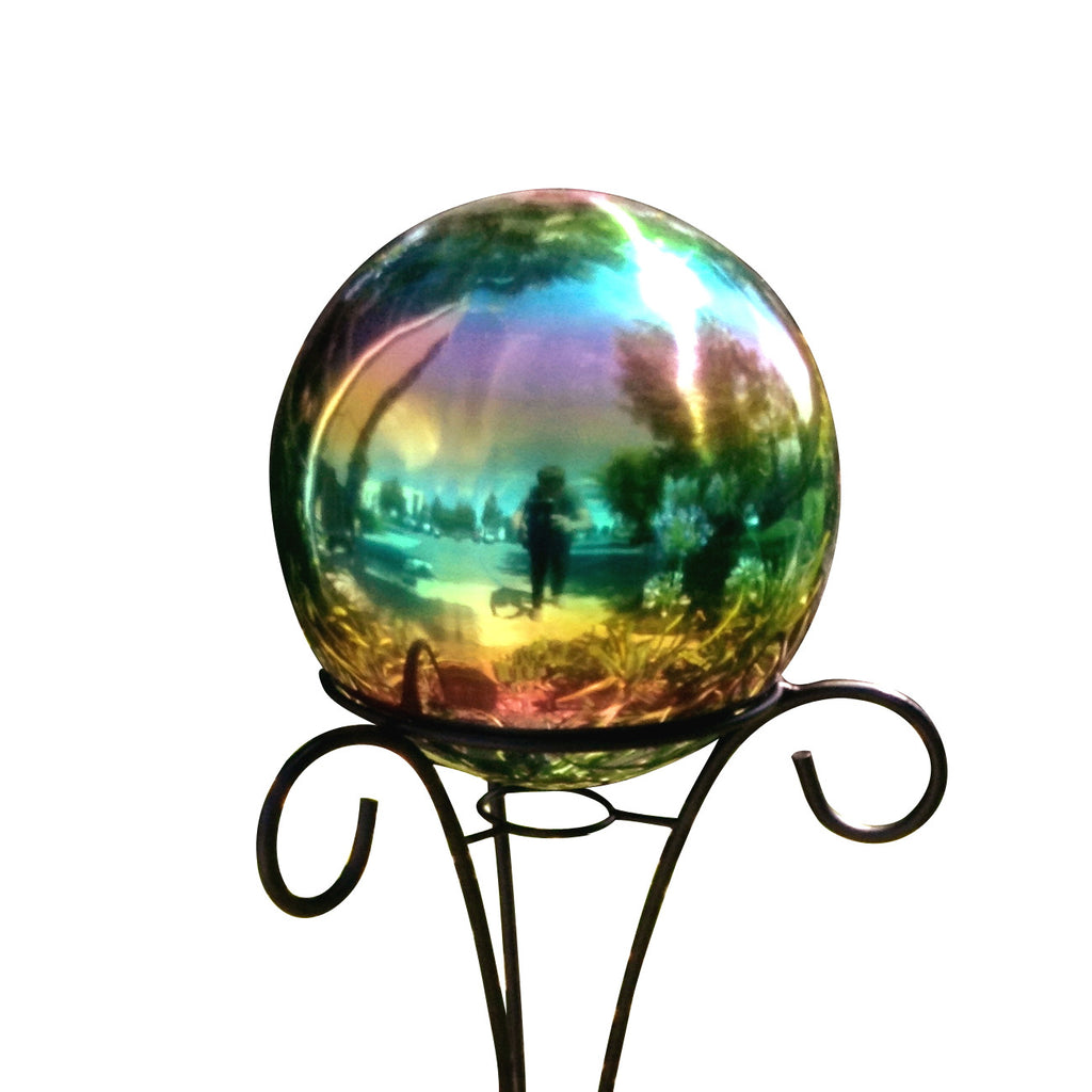"10"" Stainless Steel Gazing Ball"