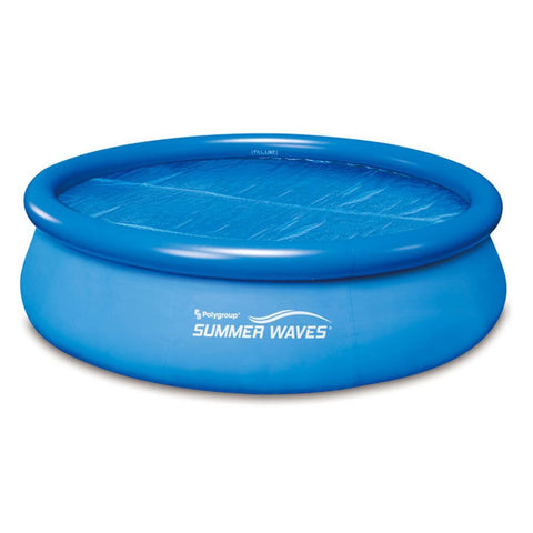Summer Waves 18' Solar Cover (Fits Quick Set Ring Pools and Ring)