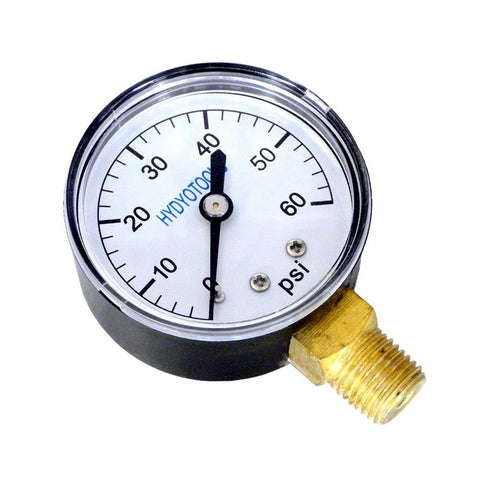 Rear Mount Pool Cleaner Pressure Gauge