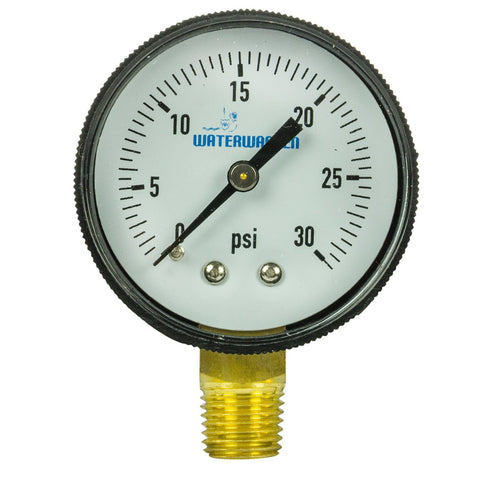Hydrotools Pressure Gauge Bottom Mount Unit