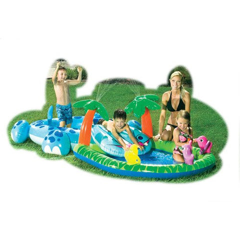 Hippo and Coco Fun Play Center Kiddie Pool - 1