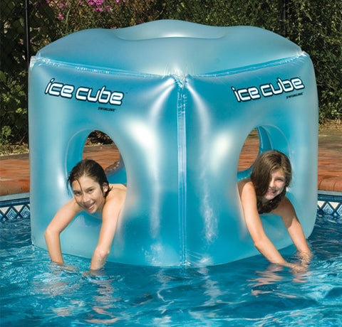 Ice Cube Habitat Inflatable Pool Toy