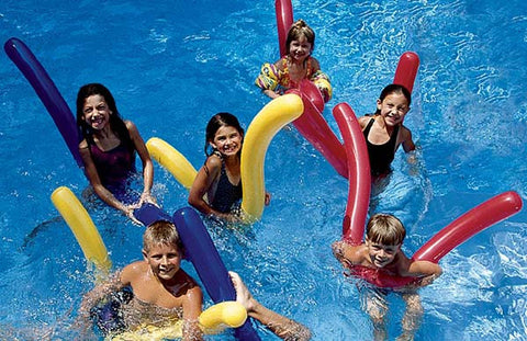6 Pack Inflatable 72 Inch Pool Noodles