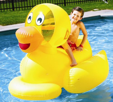 Inflatable Giant Pool Ducky