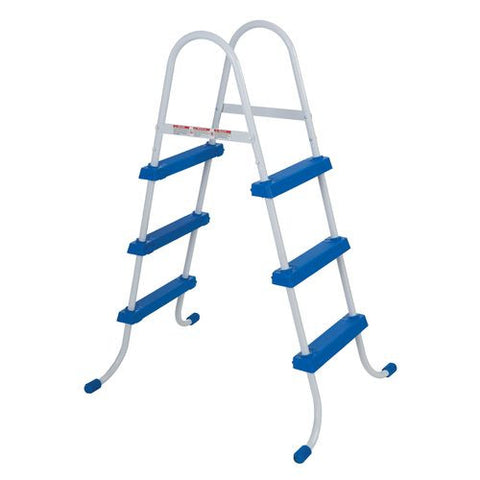 Intex Pool Ladder with Barrier for 48-Inch Wall Height Pools 58978E