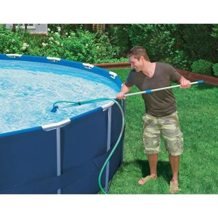 Above ground swimming pool maintenance kits from for Swimming pool cleaning chemicals list
